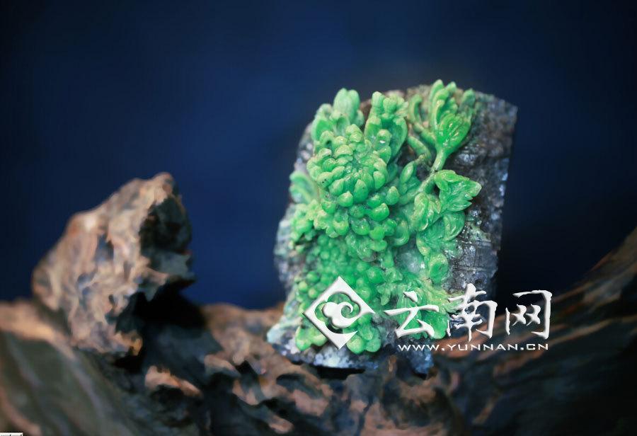 中国祖母绿精品雕件将亮相昆明国际珠宝展