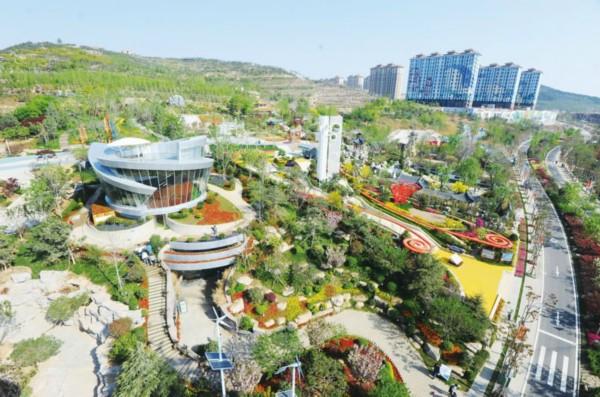 青岛世园会园区月底亮相 转型为国家4A级景区