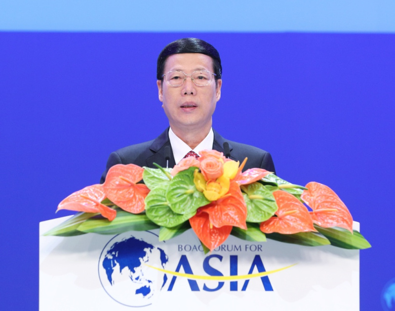 张高丽出席博鳌亚洲论坛2017年年会开幕式并发表主旨演讲