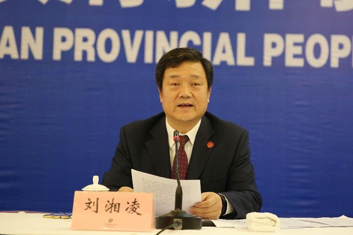湖南省食药监局局长刘湘凌出席省政府新闻办发布会