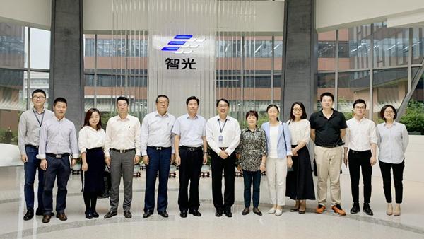 杨鹏飞带队赴广州粤芯半导体技术有限公司调研