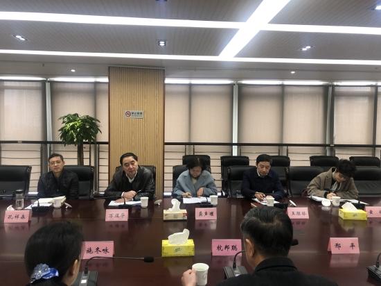 江苏省药品监督管理局调研高淳区医疗健康产业发展情况